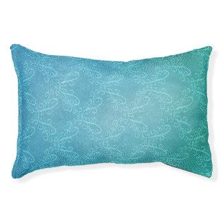 Aqua Lace Pet Bed