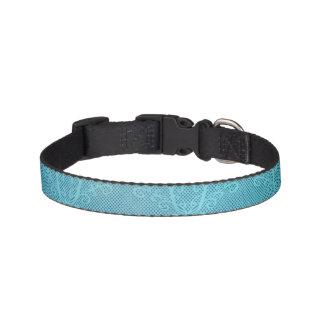 Aqua Lace Pet Collar