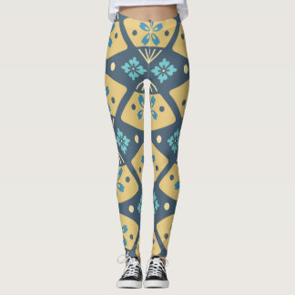aqua leggings | banana baby leggings | cut out leg
