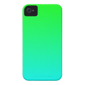 Aqua Lime Gradient iPhone 4 Covers