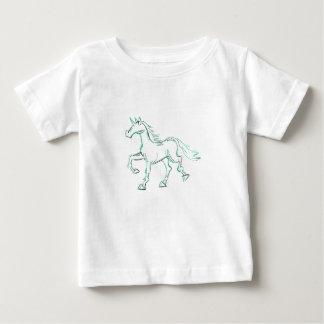 Aqua Line Unicorn Baby T-Shirt