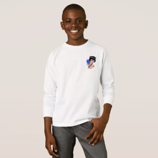Aqua Mage HEROIC Kid's Long Sleeve T-Shirt
