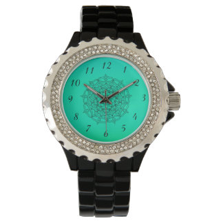 Aqua Mandala Wrist Watch