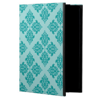 Aqua Moroccan Damask Cover For iPad Air