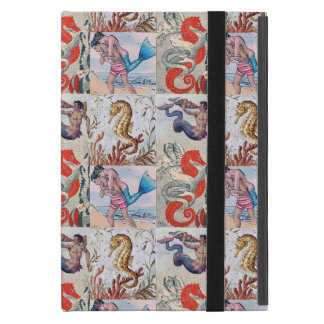 Aqua Myth iPad Cover - Mermen, Seahorses, and more