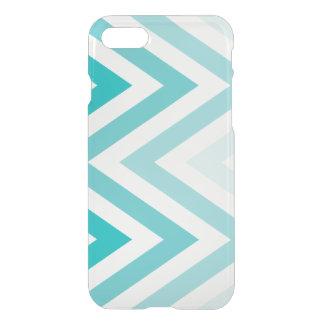 Aqua Ombre Zigzags iPhone 8/7 Case