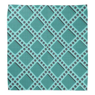Aqua Perforated Plate Bandana