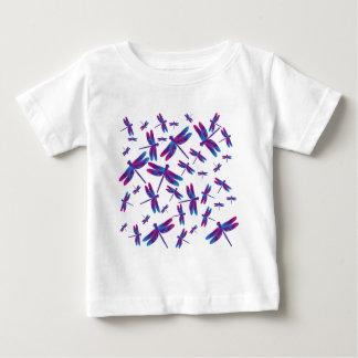 aqua pink dragonfly vektor baby T-Shirt