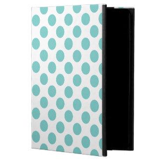 Aqua Polka Dots Powis iPad Air 2 Case