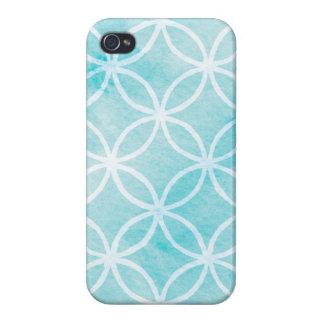 Aqua Rings iPhone Case
