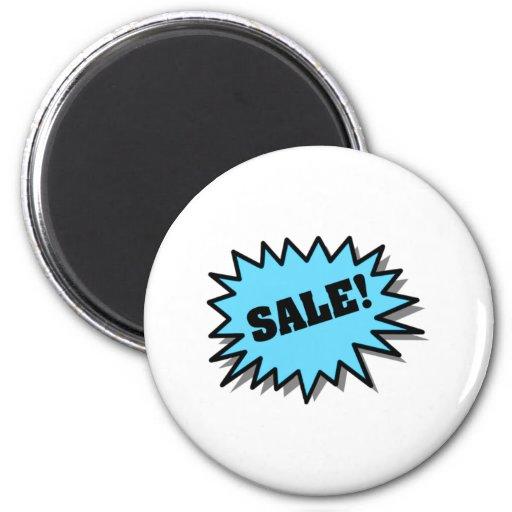 Aqua Sale Fridge Magnet