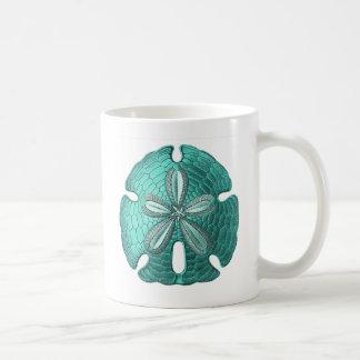 Aqua Sand Dollar Coffee Mug