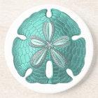 Aqua Sand Dollar Stone Coaster