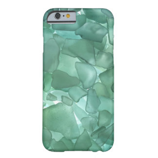 Aqua Sea Glass Barely There iPhone 6 Case