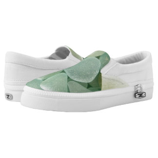 Aqua Sea Glass Sneaker