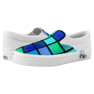aqua Slip-On sneakers