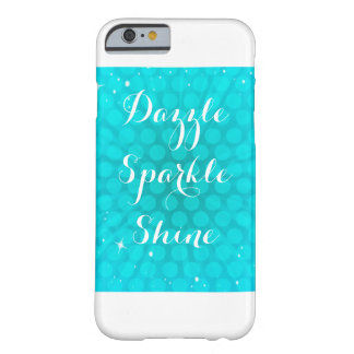 Aqua Sparkle Phone Case