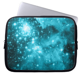 Aqua Stars Laptop Computer Sleeves