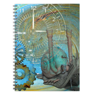 Aqua Steam Snail Traveler Notebook