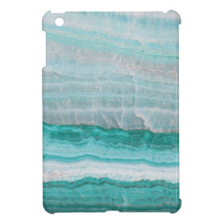 Aqua Striped Quartz Crystal iPad Mini Case