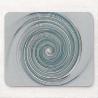 Aqua Swirl Mouse Pad
