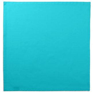 Aqua Teal Background on a Napkin