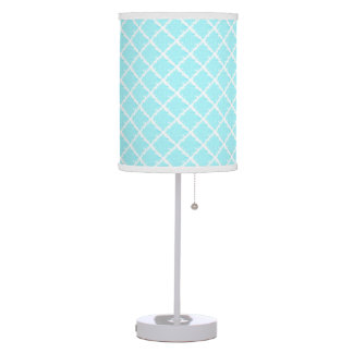 Aqua Tie Dye Table Lamp