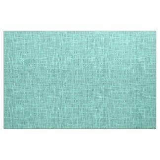 Aqua Turquoise Green Blue Faux Jute Fabric Pattern