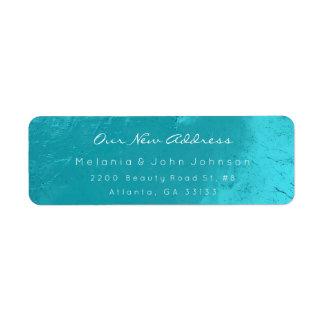 Aqua Turquoise Ocean  White New Adress RSVP