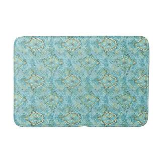 Aqua Turtle Bath Mat
