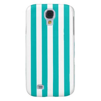 Aqua Vertical Stripes