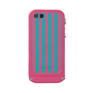 Aqua Vertical Stripes Incipio ATLAS ID™ iPhone 5 Case