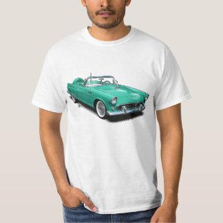 aqua Vintage Classic T-Bird T-Shirt. T-Shirt