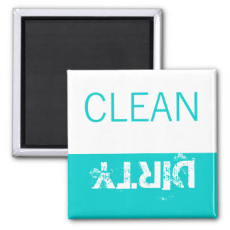 Aqua White Clean or Dirty Magnets for Dishwasher