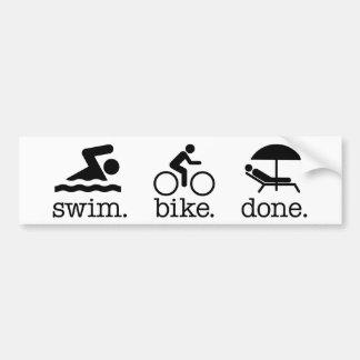 Aquabike/Aquavelo Bumper Sticker