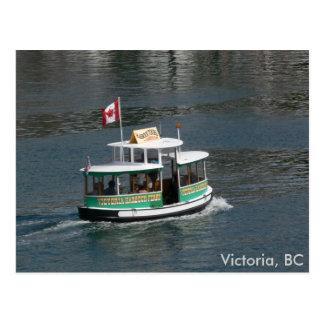 Aquabus Victoria, BC Postcard