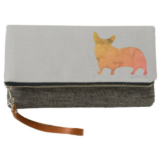 : aquacorg : Pop Art Corgi Clutch