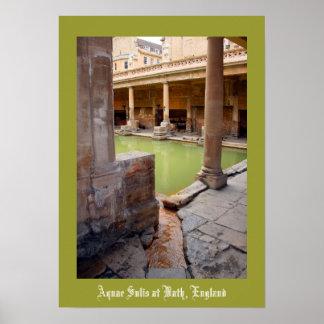 Aquae Sulis at Bath England Poster