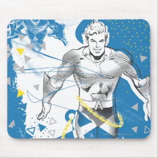 Aquaman - Absurd Collage Poster Mouse Pad