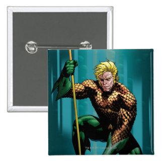Aquaman Crouching Pins