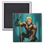 Aquaman Crouching Refrigerator Magnet
