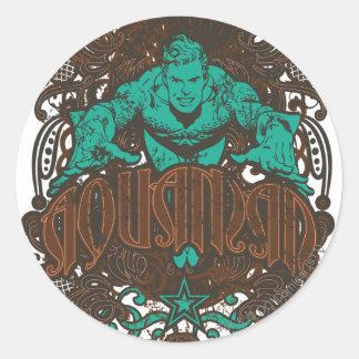 Aquaman - It's Showtime! Poster Round Sticker