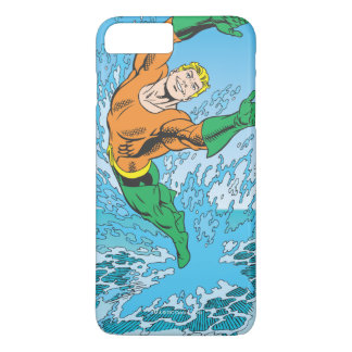 Aquaman Jumps Out of Sea iPhone 7 Plus Case