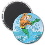 Aquaman Jumps Out of Sea Magnets