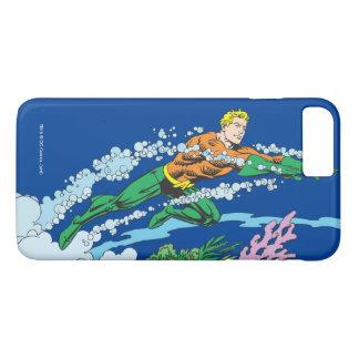 Aquaman Leaps Over Coral iPhone 7 Plus Case