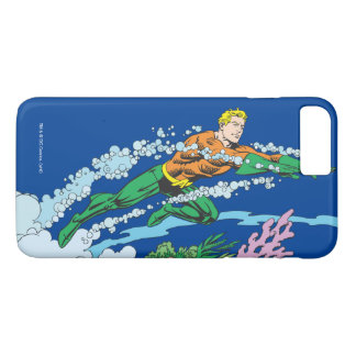 Aquaman Leaps Over Coral iPhone 8 Plus/7 Plus Case
