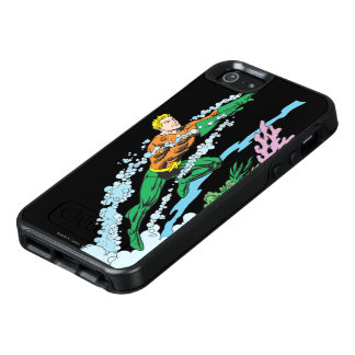 Aquaman Leaps Over Coral OtterBox iPhone 5/5s/SE Case