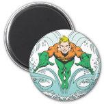 Aquaman Lunging Forward Magnets