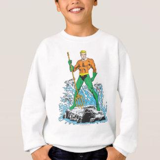 Aquaman se tient avec la fourche tee shirt