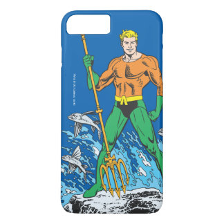 Aquaman Stands with Pitchfork iPhone 7 Plus Case
